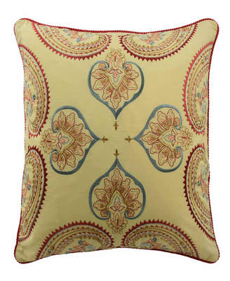Waverly Ellery Homestyles Swept Away 18 inch Embroidered Decorative Pillow