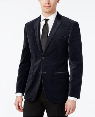 Alfani Velvet Slim-Fit Sport Coat $250 thestylecure.com