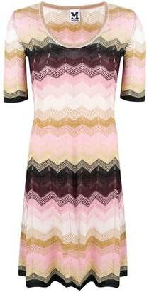 M Missoni zigzag knit mini dress