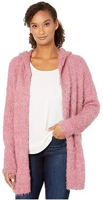 Tribal Long Sleeve Hood Sweater Cardigan