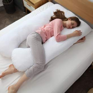 Cheer Collection Hypoallergenic Down Alternative Total Body U Shaped Fiber Pillow