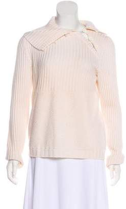 Les Copains Wool Long Sleeve Sweater