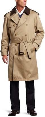 Hart Schaffner Marx Men's Burnett Trench Coat