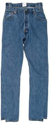 Vetements x Levi's 2017 High-Rise Jeans