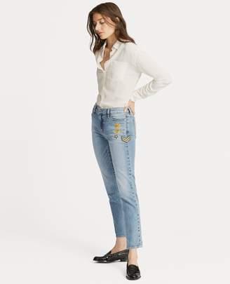 Ralph Lauren Estate Crop Jean