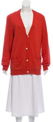 Helmut Lang Button-Up Long Sleeve Cardigan