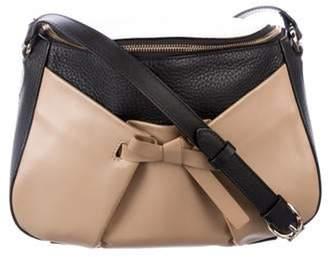 Christian Louboutin Grained Leather Crossbody Bag Black Grained Leather Crossbody Bag