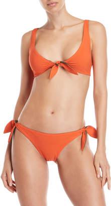 Tory Burch Biarritz Reversible Bikini Top