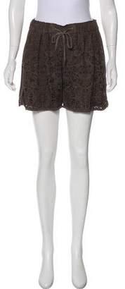 DAY Birger et Mikkelsen Leather Mini Shorts