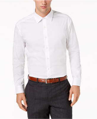 Alfani AlfaTech by Men Big & Tall Solid Dress Shirt