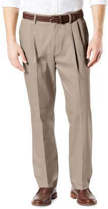 Dockers Signature Classic-Fit Pleated Pants
