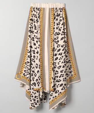 JEANASiS (ジーナシス) - アソートスカーフアシメスカート