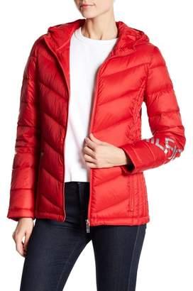 Tommy Hilfiger Packable Puffer Jacket w/ Hoodie