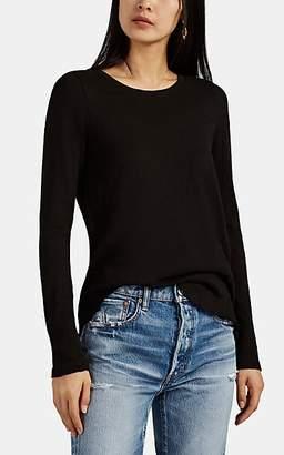 ATM Anthony Thomas Melillo Women's Slub Jersey Long-Sleeve T-Shirt - Black