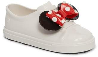 Mini Melissa Disne Be Minnie Slip-On Sneaker (Toddler & Little Kid)