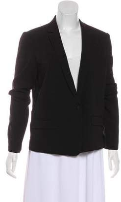 Isabel Marant Woven Notch-Lapel Blazer
