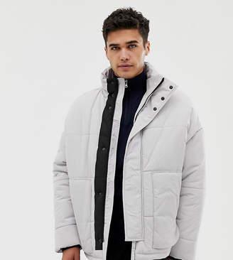 Puffa Noak jacket in ice gray