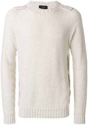 Maison Flaneur shoulder detail jumper