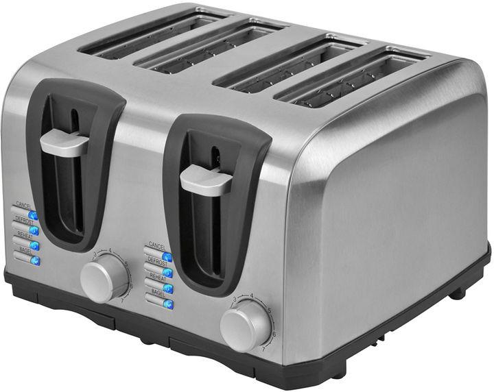 Kalorik 4-Slice Stainless Steel Toaster