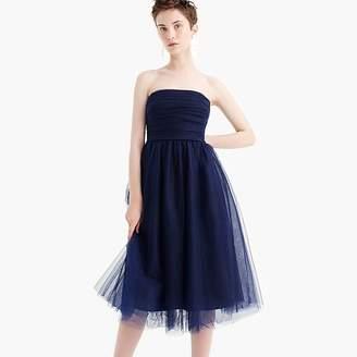 J.Crew Tulle pleated dress