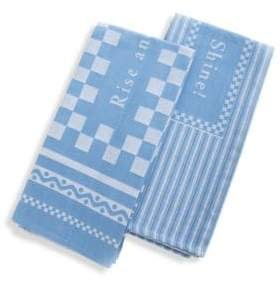 Mackenzie Childs Two-Piece Rise & Shine Dish Towels