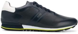HUGO BOSS perforated low-top sneakers