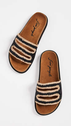 Free People Crete Footbed Slides