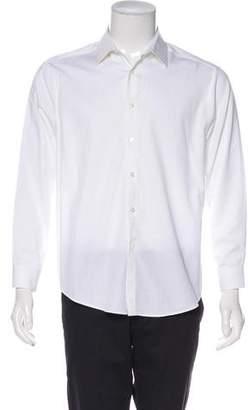 Calvin Klein Collection Woven Dress Shirt