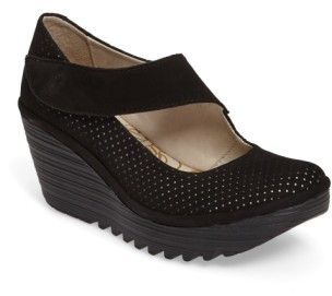 Women's Fly London Yeon Mary Jane Platform Wedge $179.95 thestylecure.com