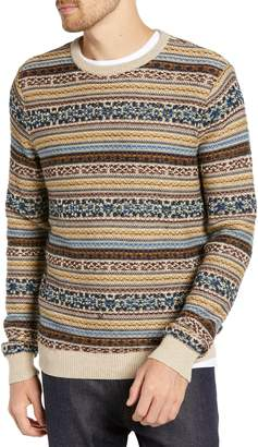 1901 Regular Fit Fair Isle Crewneck Sweater
