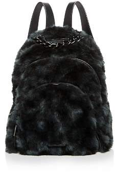 KENDALL + KYLIE Sloane Checkered Faux-Fur Backpack - 100% Exclusive