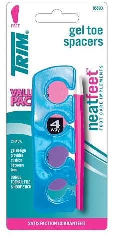 TRIM® Neat Feet Gel Toe Spacers Bonus Pack