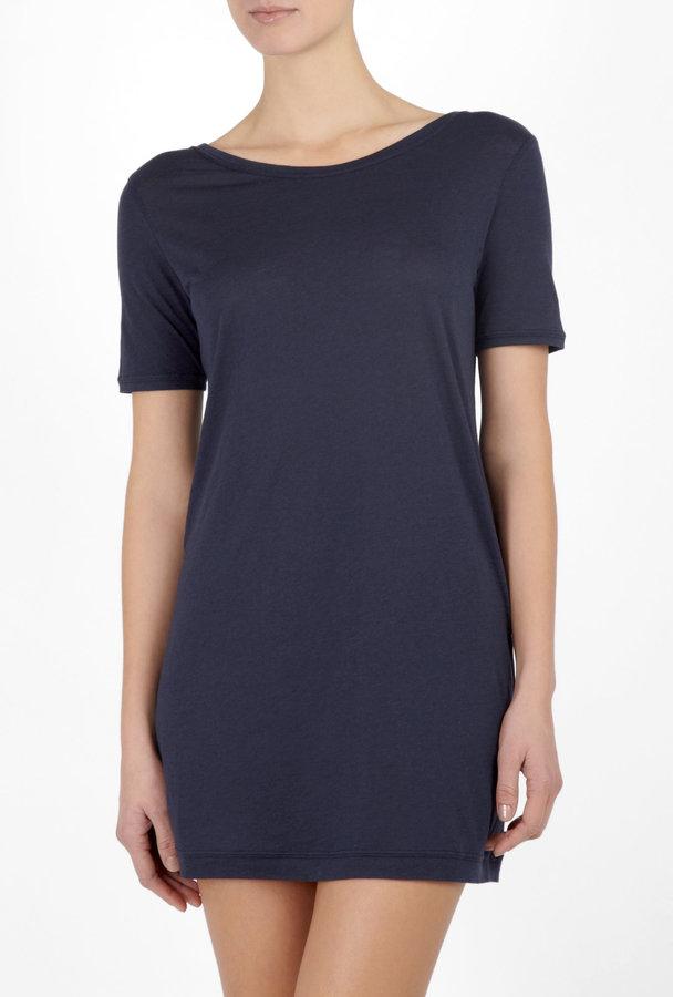 3.1 Phillip Lim Initials Navy T-shirt Dress