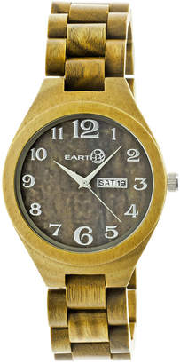 Earth Wood Earth Unisex Sapwood Watch