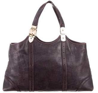 Gucci Embossed Horsebit Glam Bag