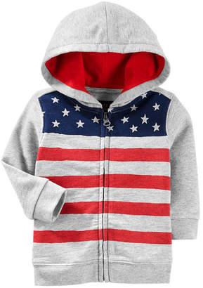 Osh Kosh Oshkosh American Hoodie Hoodie-Baby Boys
