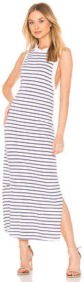 Stateside Striped Crew Neck Tank Dress
