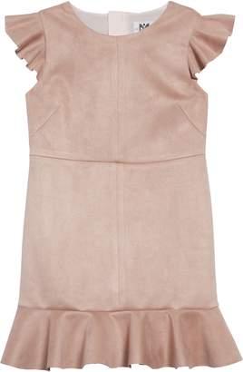 Milly Ruffle Trim Dress