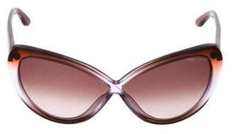 Tom Ford Madison Gradient Sunglasses