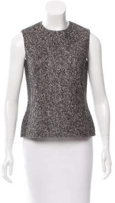 Michael Kors Herringbone Wool Top