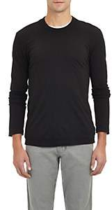 James Perse Men's Jersey Long Sleeve T-shirt - Black