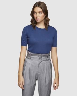 Oxford Kaitlin Short Sleeve Knit