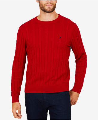 0797ab53bd Mens Cable Knit Sweater - ShopStyle