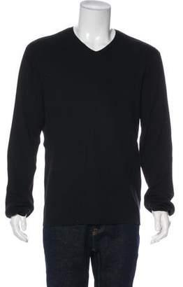 John Varvatos Wool V-Neck Sweater w/ Tags