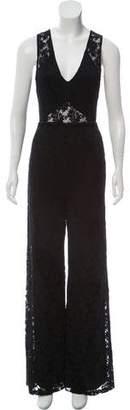 Nightcap Clothing Sleeveless Lace Jumpsuit w/ Tags