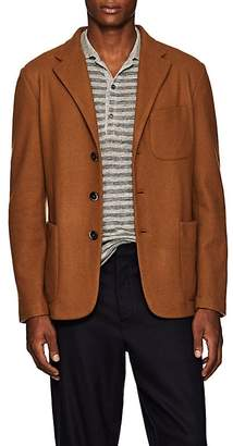 Barena Venezia Men's Knit Wool-Blend Three-Button Sportcoat