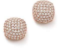 Bloomingdale's Diamond Pavé Cushion Stud Earrings in 14K Rose Gold, 0.50 ct. t.w. - 100% Exclusive