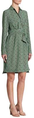 Akris Women's Las Rocas-Print Shirtdress