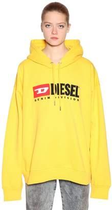 Diesel Embroidered Jersey Sweatshirt Hoodie