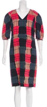 Marni Virgin Wool Midi Dress w/ Tags